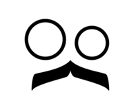 Mustache logo idea