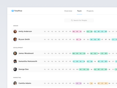 Team time tracking app that syncs projects and tasks from Flow