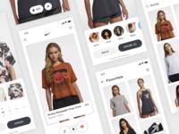 Nike + Tinder App Concept