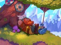 Sleepy Viking