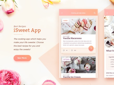 Sweet Recipes App