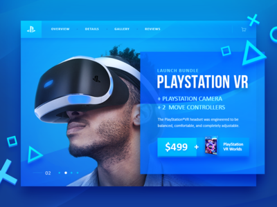 PlayStation VR - Product Page