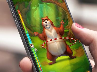 Hulabear Game UI