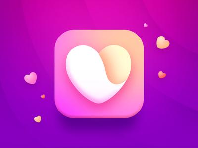Heart iOS Icon