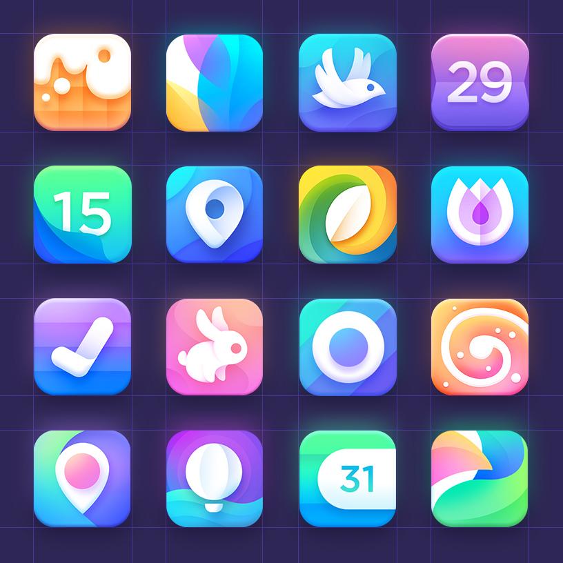 Neststrix ios icons