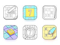 Sudoku App Icons