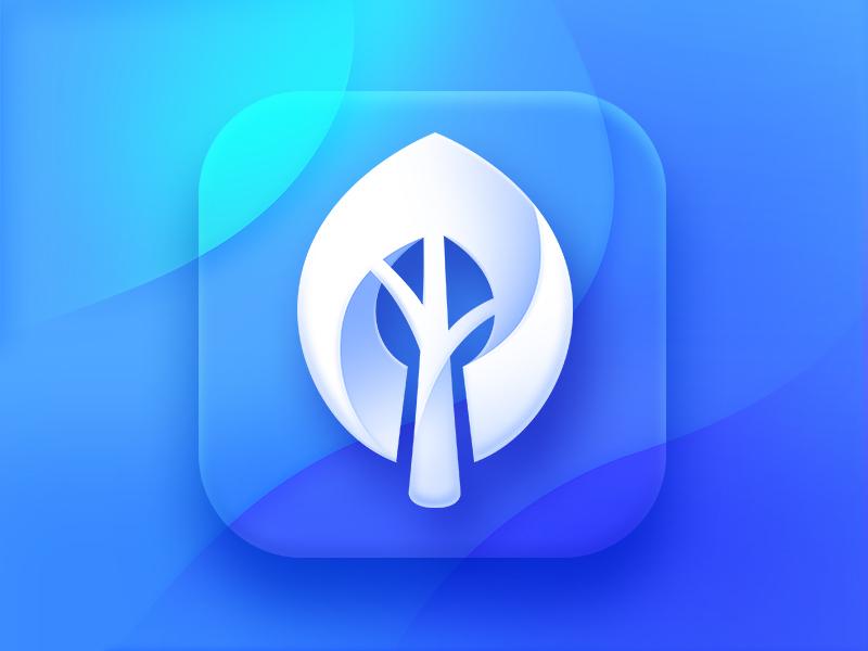 Wallpaper Tree App Icon By Neststrix For Neststrix Studio On