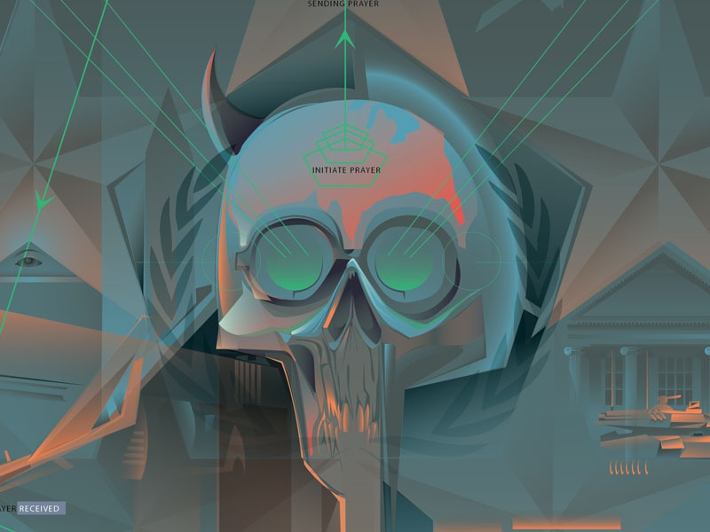 Inspectre General2013©Orlando Arocena vector adobe illustrator orlando arocena shadow government inspectre general