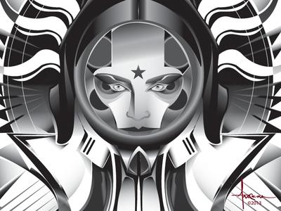 Dementia Spacegirl Orlando Arocena 2013