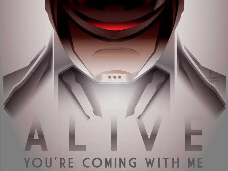 Dead Or Alive 2014 Orlando Arocena vector orlando arocena adobe illustrator robocop dead or alive