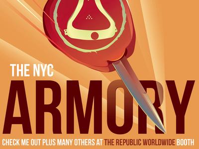NYC ARMORY CENTENNIAL EXHIBTION 2013© Arocena