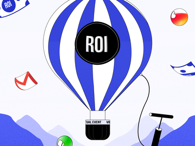 How to increase ROI? attendify event app marketing blog cover air hot air balloon mountain conference video like email virtual