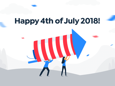 4th of July united states holiday independence day illustration usa july 4 july 4th fourth of july america 4
