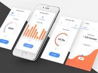 Hybrid dashboard app