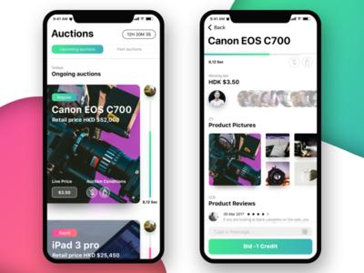 iPhone X auction - 2