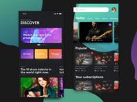 Discover screens