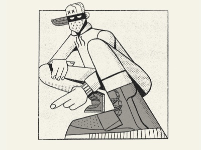 Sneaker Fiend retro yeezy fashion nba shoes sneakers illustration nathan walker