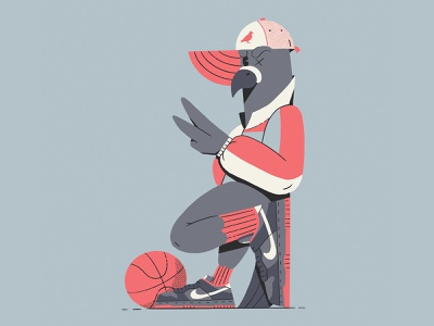 Pigeon Dunk hand hat sports bird all the pretty colors nathan walker character fashion dunks sneakers shoes basketball pigeon