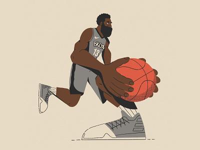 Step-back King nathan walker character hands sneakers kicks basketball nba bklyn