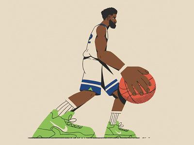 KAT nathan walker hands shoes character sneakers basketball nba