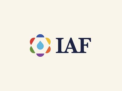 IAF branding nathan walker icons iconography logo non profit character branding