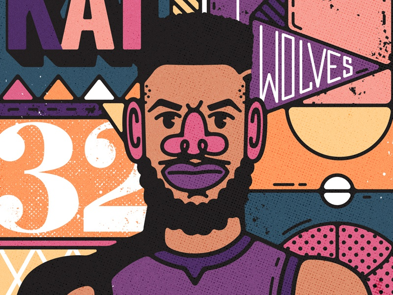 Karl Anthony Towns By Nathan Walker On Dribbble