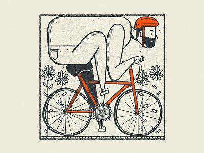 Riding into the Weekend nathan walker texture retro austin biking bike self portrait selfie