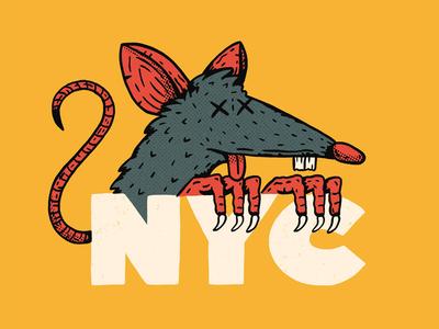 Rats procreate new york nyc subway rat