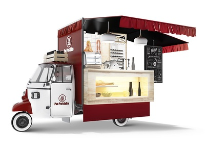 Food Truck - Meat and Cheese