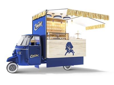 Food Truck with Chocolate