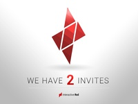We have two invites to join Dribbble