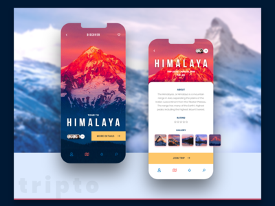 Trips App himalaya mountain travel tourism