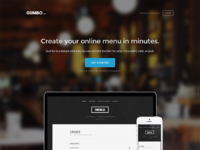 Hassle free online menu software   gumbo
