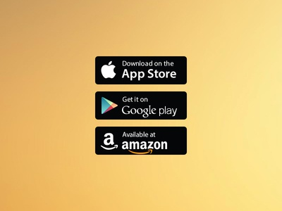 Free Vector App Store/Google Play/Amazon Badges by Kevin Lee ...