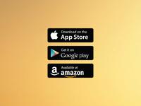 Free Vector App Store/Google Play/Amazon Badges