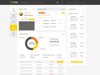Dashboard ICON Bank