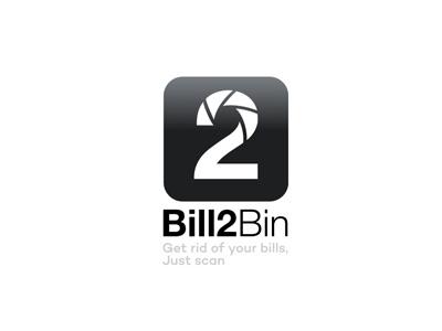 Bill2bin Logo Draft  brand logo kevinsky app 2 number
