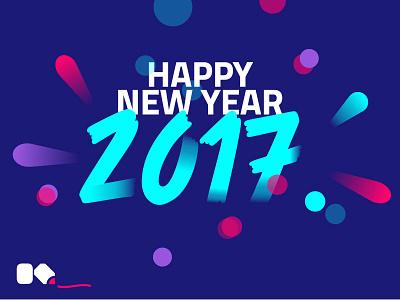 2017 Dribbble brand logo kevinsky 2017 year new happy