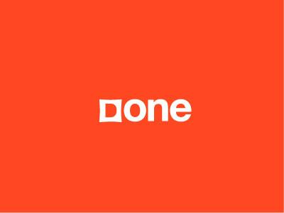 Done d logo minimalist