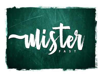Mister Fast ligature fast ink hand draw hand lettering lettering marker brush typeface type font