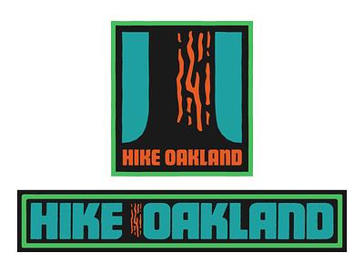 Hike Oakland hike oakland california redwood tree pine evergreen sticker