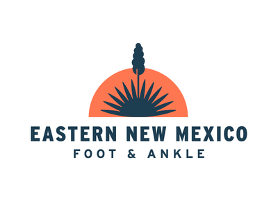 Eastern New Mexico Foot & Ankle interstate logo ankle foot sun yucca
