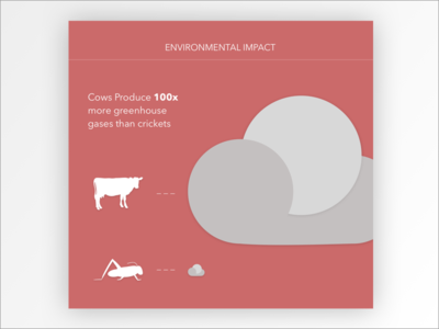 Environmental Impact climate change food branding infographic environment