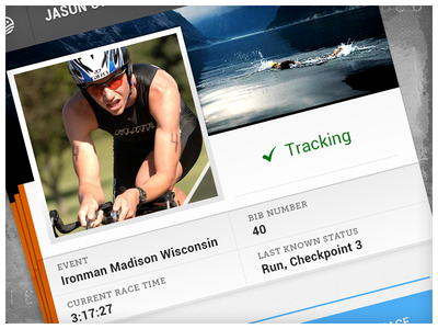 Irontracker Preview android profile triathlon athlete