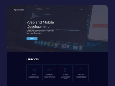 Web development mobile backend it web design coding digital development webdesign