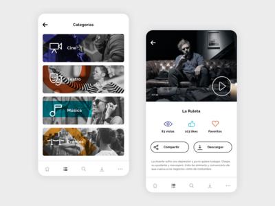 Indie Content App
