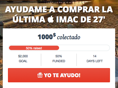 Crowdfunding mobile campaign crowdfunding campaign social widget