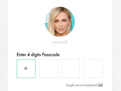 Secure login login secure pin passcode