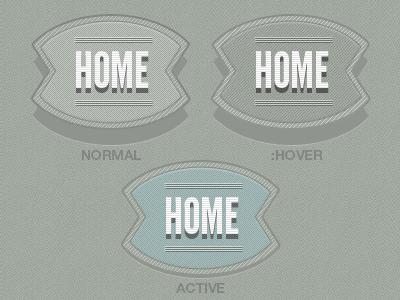 Menu Shapes menu shapes retro navigation vintage