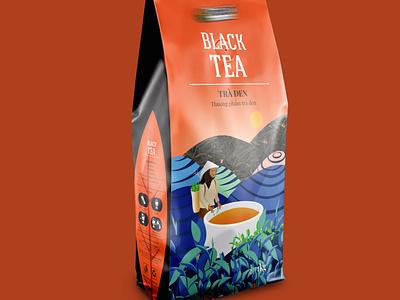 teabag packaging branding bag